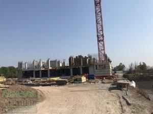 Akhisar 500 kişilik öğrenci yurdu inşaatında son durum