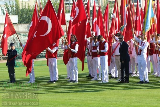 Akhisar'da Cumhuriyetimizin 95.yıl kutlama töreninde objektife yans 1
