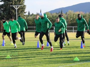 Akhisarspor, Standart Liege maçı hazırlıklarını tamamladı, Cihat Arslan