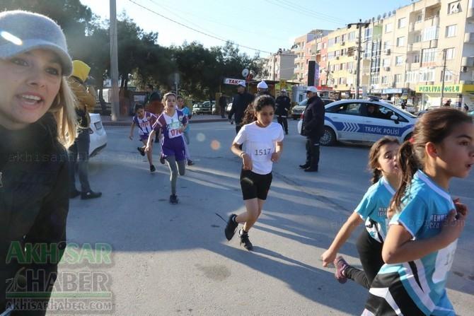 Akhisar'da 27 Aralık Atatürk Kır Koşusu başladı 1