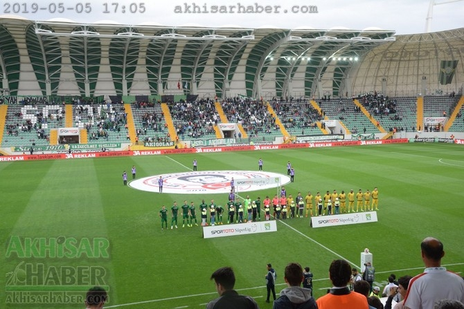 Akhisarspor, Evkur Yeni Malatyaspor ilk devre foto galeri 1