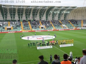Akhisarspor, Evkur Yeni Malatyaspor ilk devre foto galeri