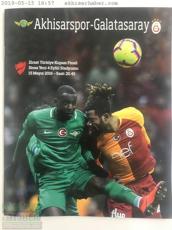 57. Ziraat Türkiye Kupasına özel hazırlanan FİNAL DERGİSİ 1