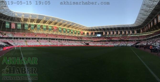 Ziraat Türkiye Kupası Final maçı öncesi Yeni 4 Eylül Sivas Stadyumu hazı 1