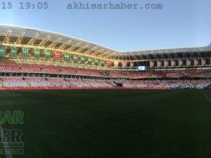 Ziraat Türkiye Kupası Final maçı öncesi Yeni 4 Eylül Sivas Stadyumu hazı