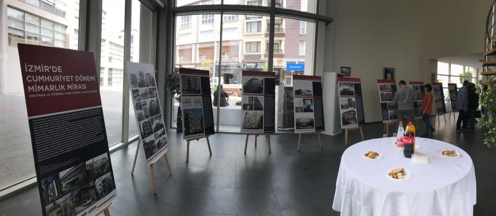 İzmir'de Cumhuriyet Dönemi Mimarlık Mirası sergisi Akhisar'da  1