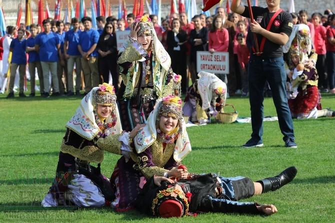 29 Ekim Cumhuriyet Bayramı 96.yıl kutlama programı 1