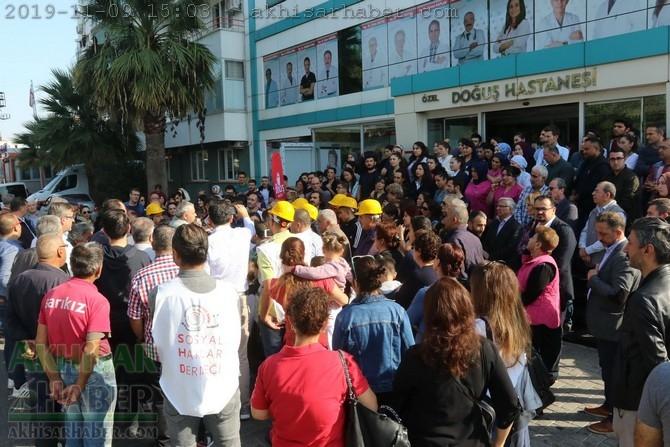 Akhisar Özel Doğuş Hastanesi işçileri hukuk savaşını sürdürüyor 1