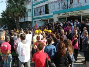 Akhisar Özel Doğuş Hastanesi işçileri hukuk savaşını sürdürüyor