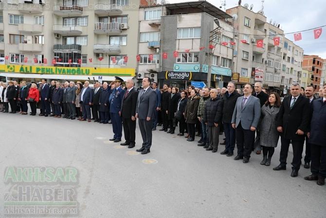 Atatürk'ün Akhisar'a gelişinin 97. yılı kutlama programı 1