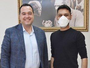 CHP Gençlik Kolları Başkanı Akalın'dan Dutlulu'ya ziyaret