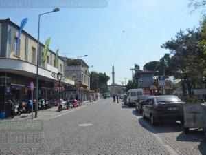 Koronavirüs tedbirleri kapsamında 14 Nisan Akhisar Sokak ve caddeleri bö