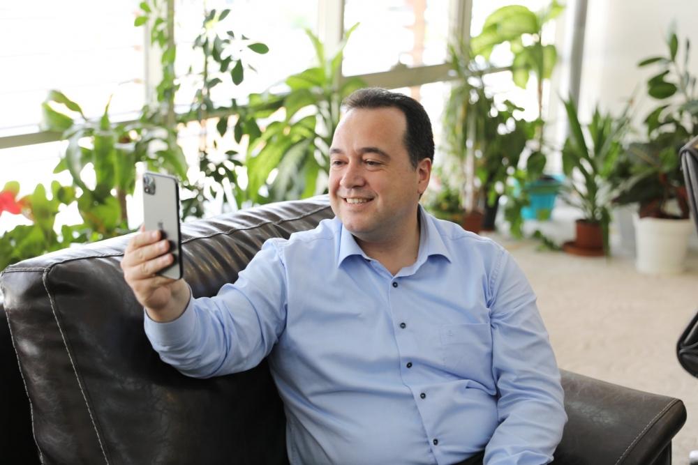 Belediye Başkanı Besim Dutlulu'dan lösemi hastası Rüzgar'a mor 1