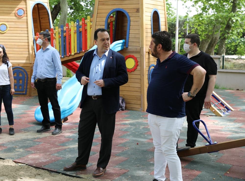 Belediye Başkanı Besim Dutlulu, sosyal tesislerde incelemelerde bulundu 1