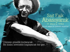 Akhisar Belediyesi'nden Sait Faik Abasıyanık için paylaşım