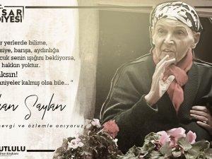Akhisar Belediyesi'nden Türkan Saylan paylaşımı