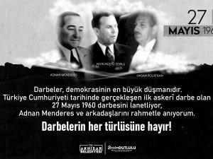 Belediye Başkanı Besim Dutlulu'dan 27 Mayıs paylaşımı