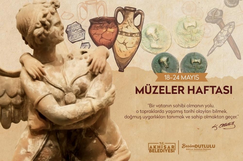 Akhisar Belediyesi müzeler haftasını kutladı 1