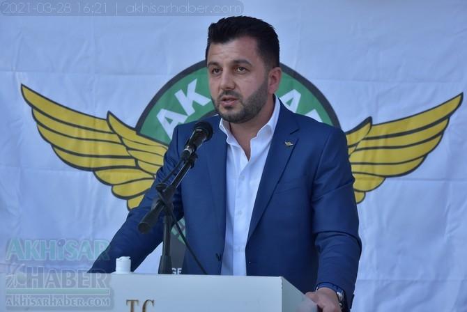 Akhisarspor yeni başkanı Evren Özbey oldu 1