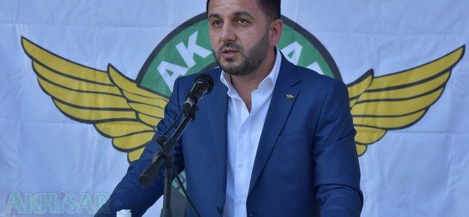 Akhisarspor yeni başkanı Evren Özbey oldu