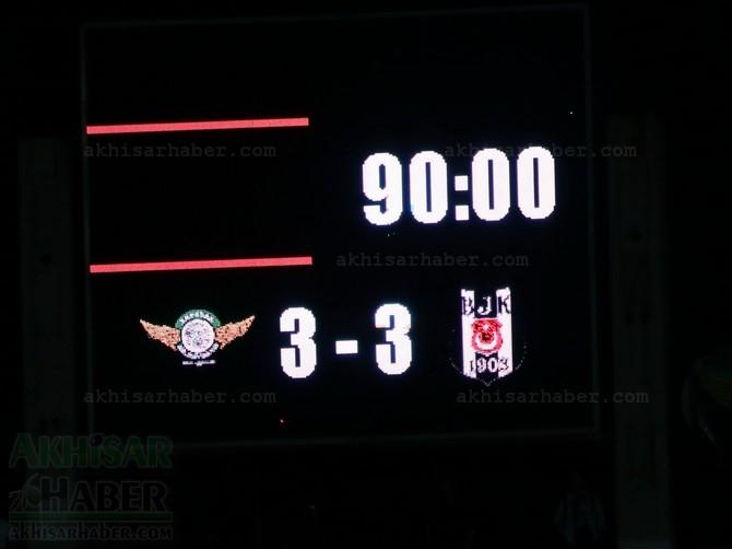 Akhisar Belediyespor, Beşiktaş Maçı Hikayesi 40