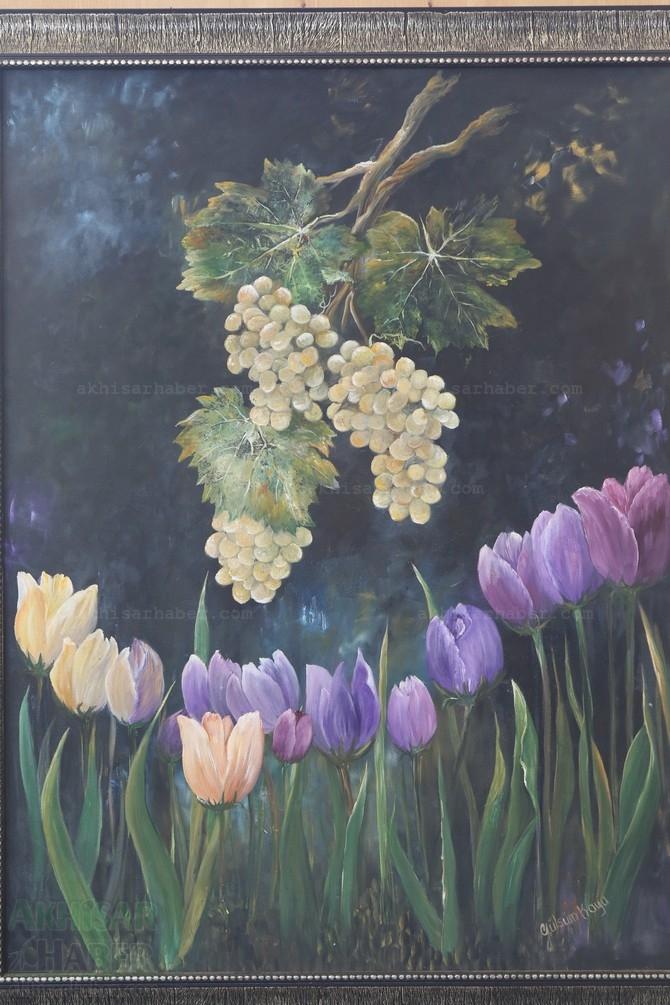 Gülsüm Kaya Resim Atölyesi Sergisi Açıldı galerisi resim 14