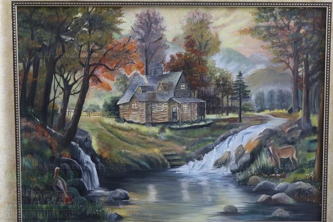 Gülsüm Kaya Resim Atölyesi Sergisi Açıldı galerisi resim 3