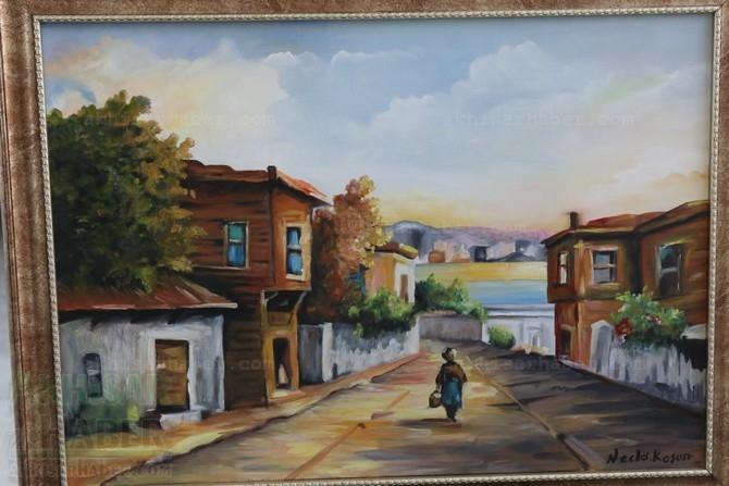 Gülsüm Kaya Resim Atölyesi Sergisi Açıldı galerisi resim 4