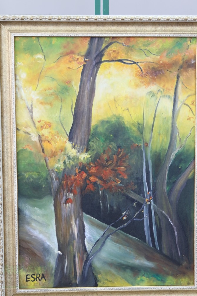 Gülsüm Kaya Resim Atölyesi Sergisi Açıldı galerisi resim 40