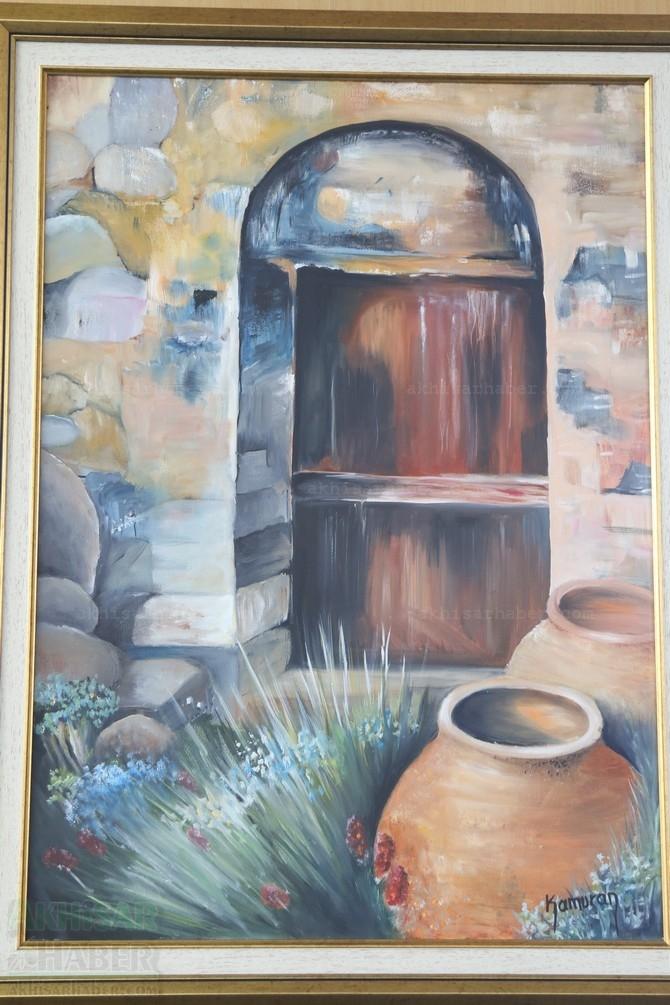 Gülsüm Kaya Resim Atölyesi Sergisi Açıldı galerisi resim 42