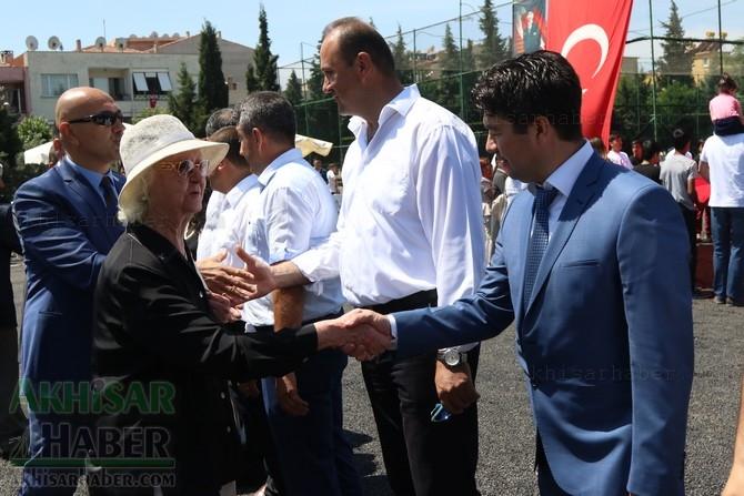 Akhisar'da 19 Mayıs Atatürk'ü Anma, Gençlik ve Spor Bayramı 97 88