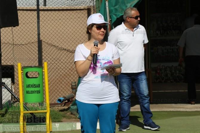 Akhisar'da Obezite'ye karşı hareketli yaşam yürüyüşü yapıldı 10