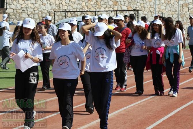Akhisar'da Obezite'ye karşı hareketli yaşam yürüyüşü yapıldı galerisi resim 15