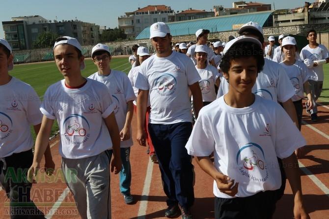 Akhisar'da Obezite'ye karşı hareketli yaşam yürüyüşü yapıldı galerisi resim 38