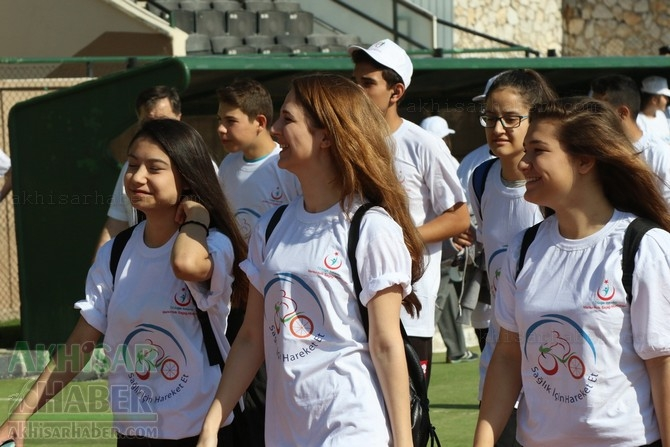 Akhisar'da Obezite'ye karşı hareketli yaşam yürüyüşü yapıldı galerisi resim 4