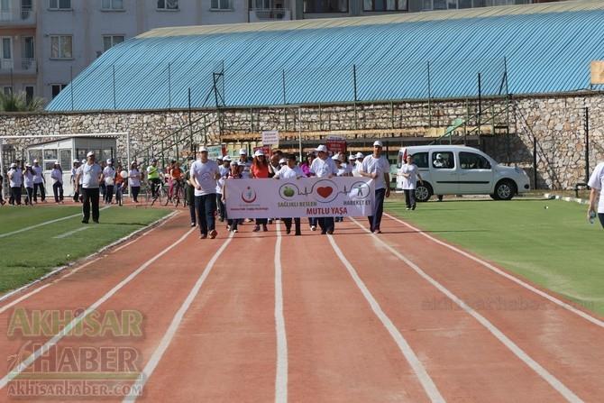 Akhisar'da Obezite'ye karşı hareketli yaşam yürüyüşü yapıldı 41