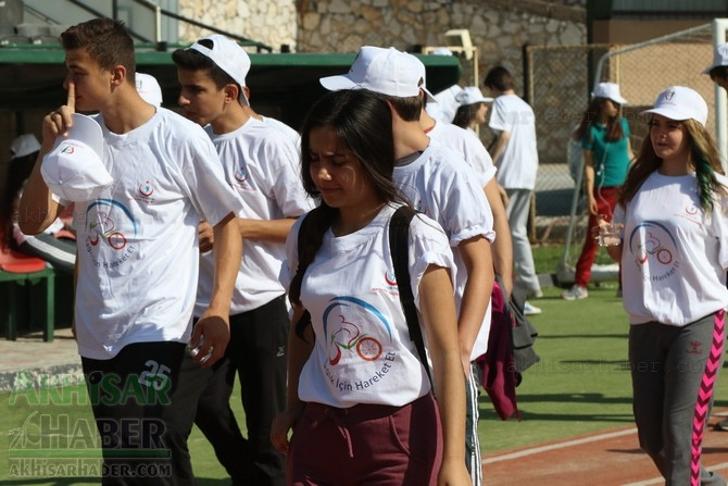 Akhisar'da Obezite'ye karşı hareketli yaşam yürüyüşü yapıldı galerisi resim 5