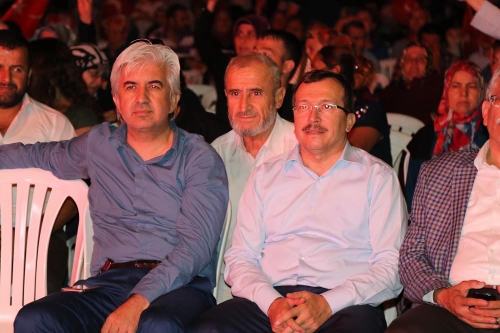 Akhisar'da demokrasi nöbeti 16.gününde de devam ediyor galerisi resim 20