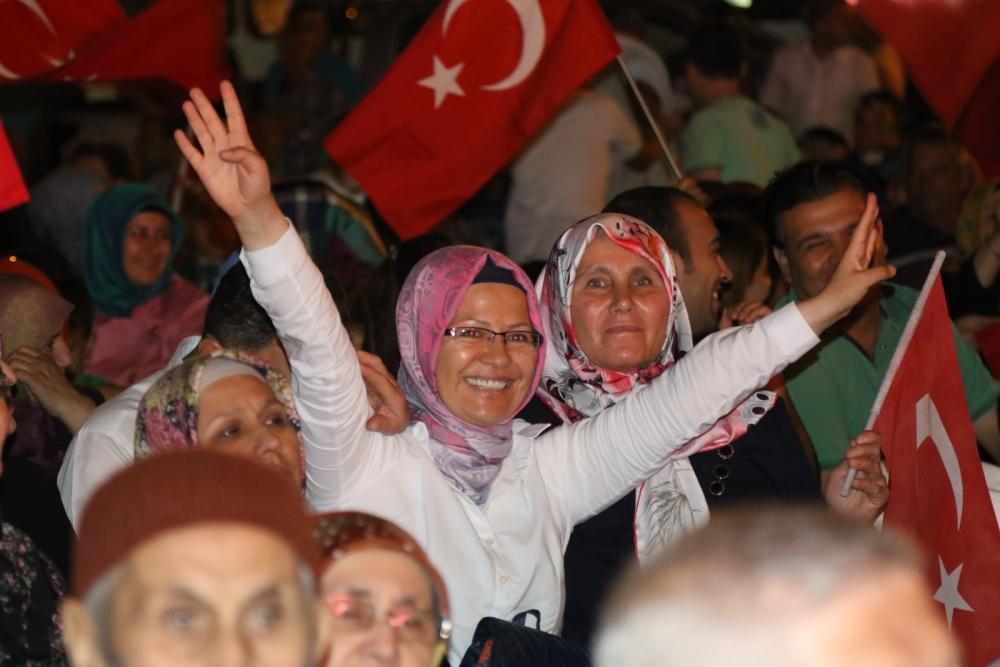Akhisar'daki demokrasi nöbeti 17. gün galerisi resim 11
