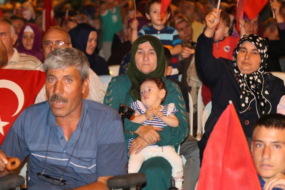 Akhisar'daki demokrasi nöbeti 17. gün galerisi resim 13