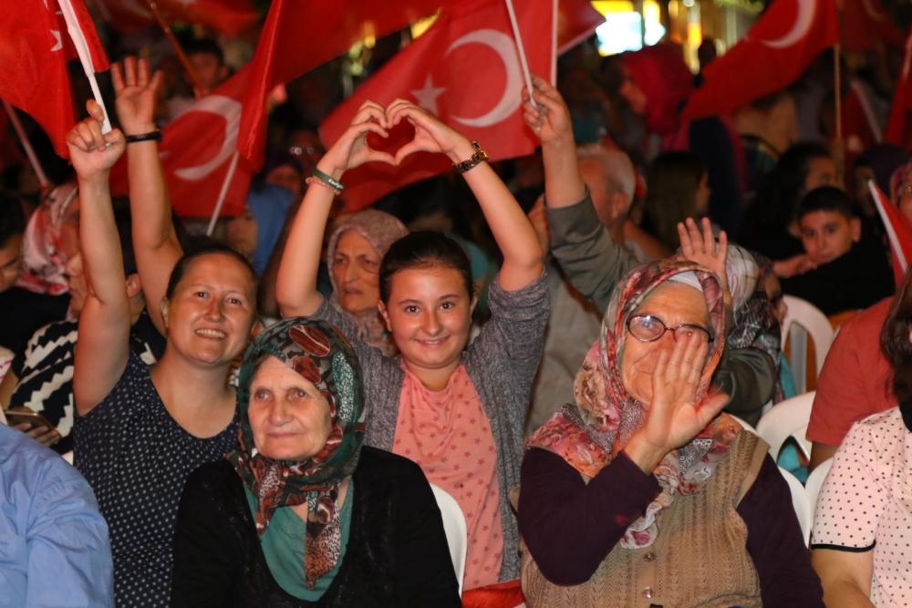 Akhisar'daki demokrasi nöbeti 17. gün 17