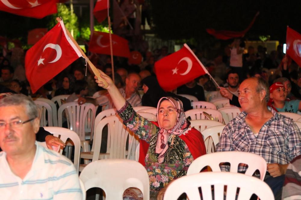 Akhisar demokrasi nöbeti 18. günü galerisi resim 14