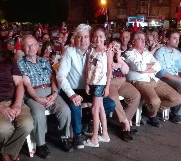 Akhisar demokrasi nöbeti 18. günü 2