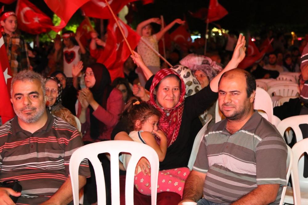 Akhisar demokrasi nöbeti 18. günü 20