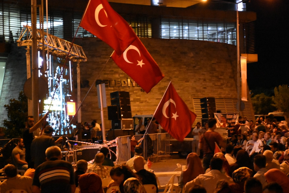 Akhisar demokrasi nöbeti 18. günü galerisi resim 26