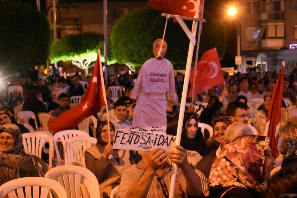 Akhisar demokrasi nöbeti 18. günü galerisi resim 27