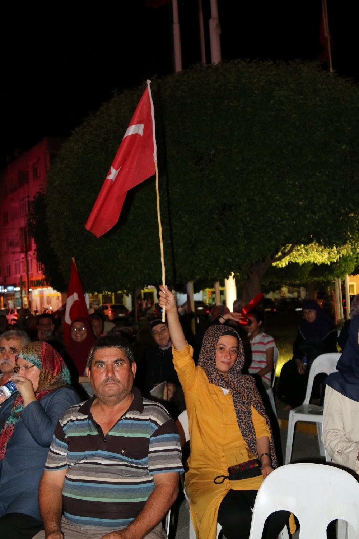Akhisar demokrasi nöbeti 18. günü 41