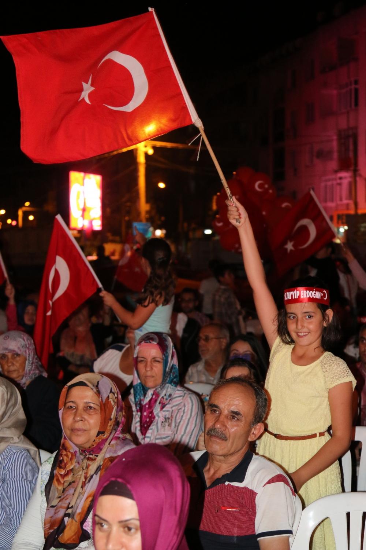 Akhisar demokrasi nöbeti 18. günü 45