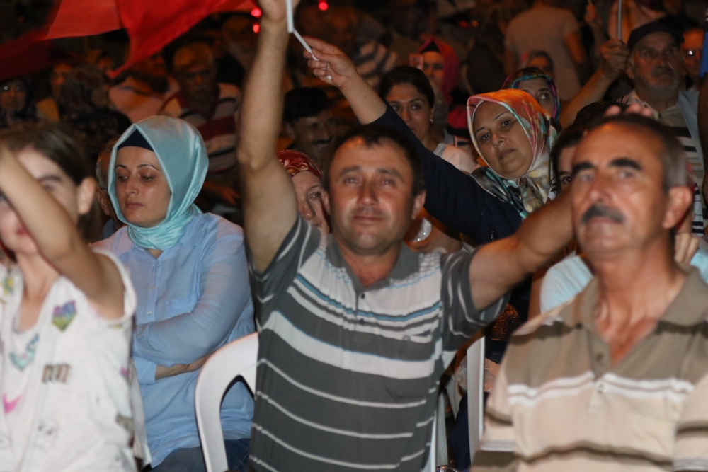 Akhisar demokrasi nöbeti 18. günü galerisi resim 5