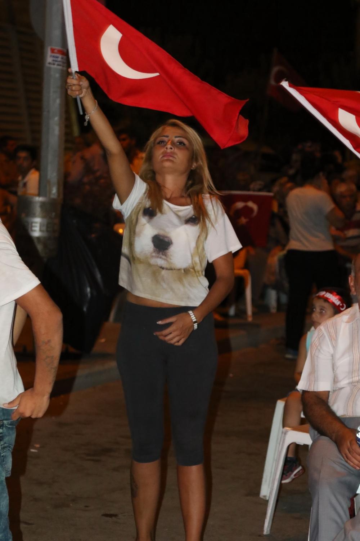 Akhisar demokrasi nöbeti 18. günü 8